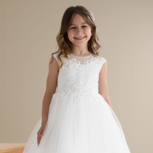 flower girl and first holy communion